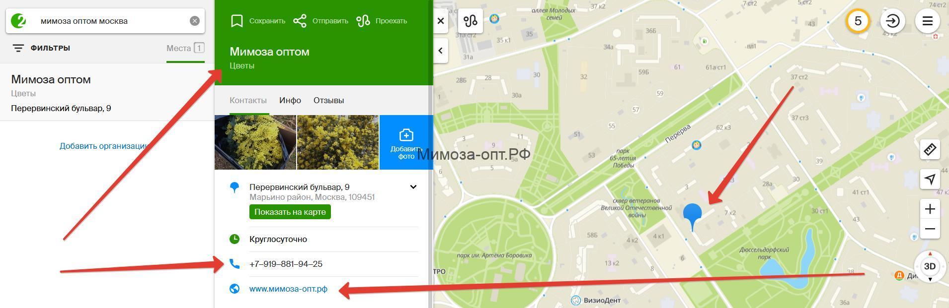 букеты мимоза купить Москва от 1 коробки телефон